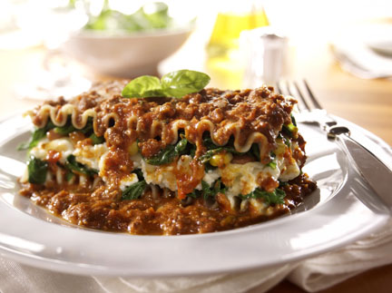 lasagna - food photography