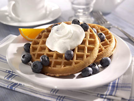 waffles - food photography