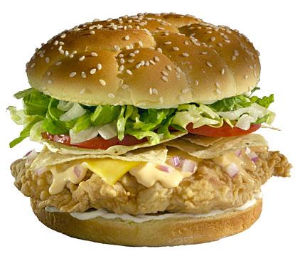 Chicken sandwich - Food photography